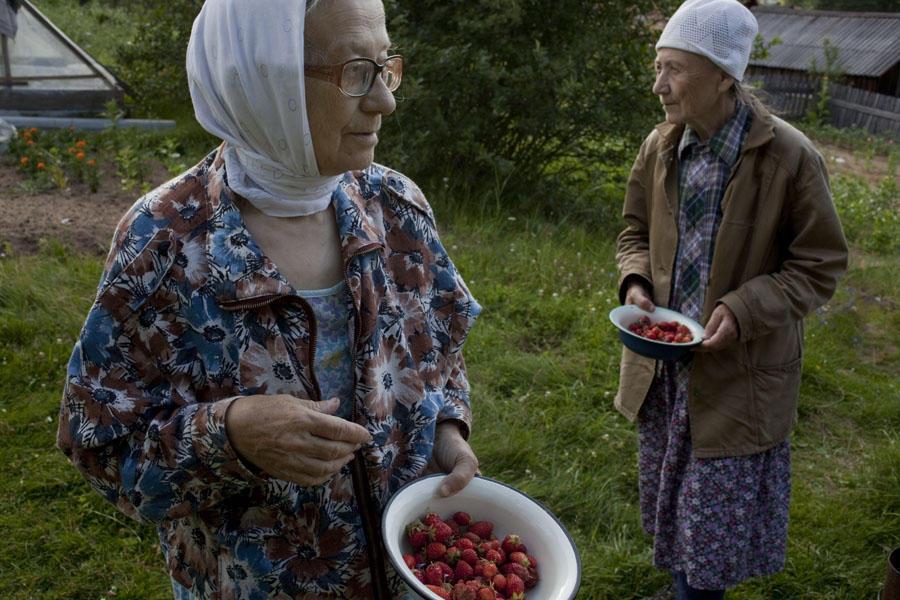 aunties06 15 уникальных фотографий из жизни российской глубинки