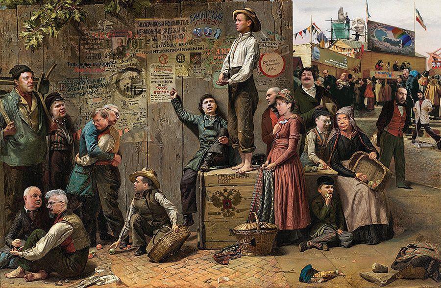 cartoon14 Красочные «Политические плакаты» Андрея Будаева