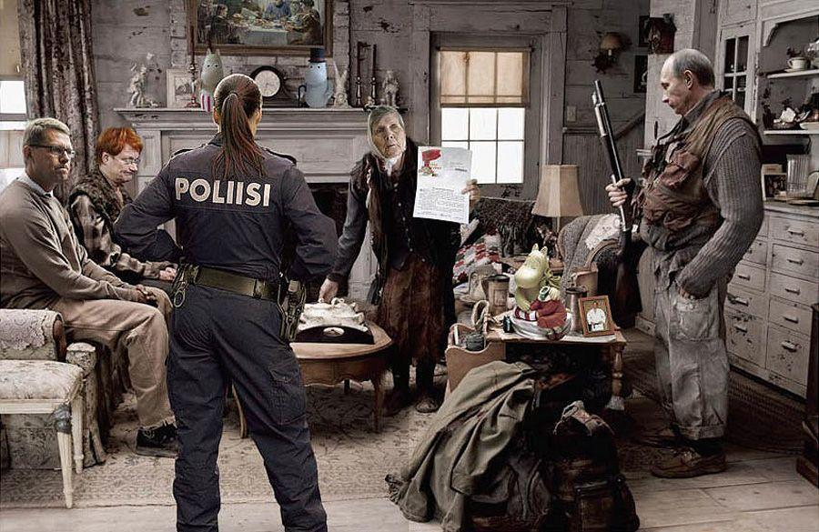 cartoon16 Красочные «Политические плакаты» Андрея Будаева