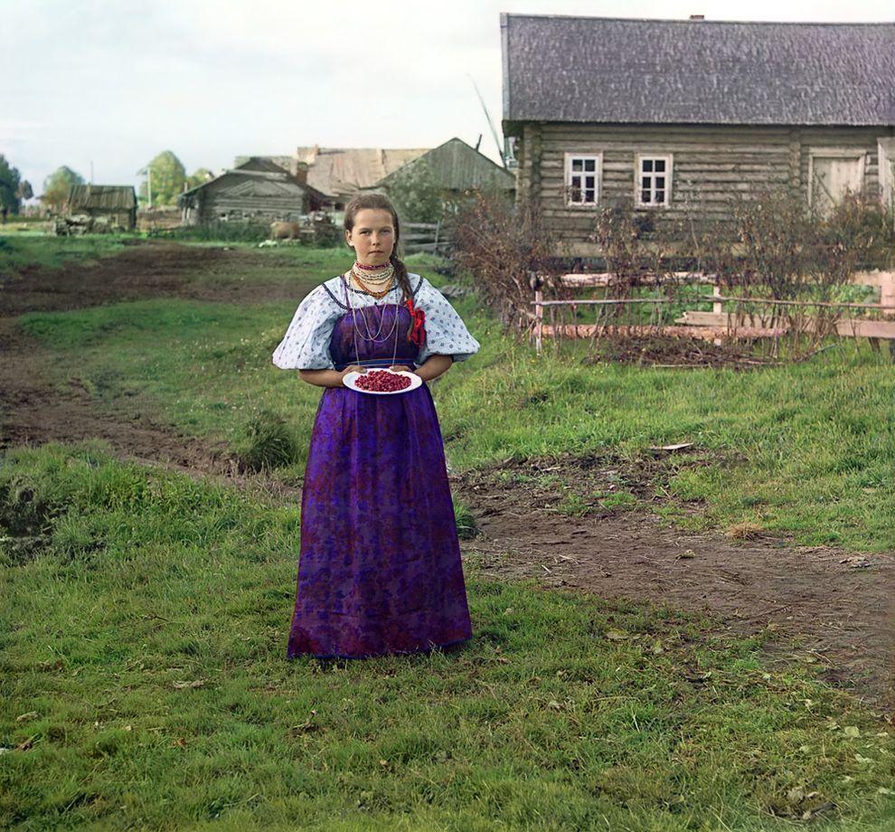 colorportrait01 Самые первые цветные портреты жителей России