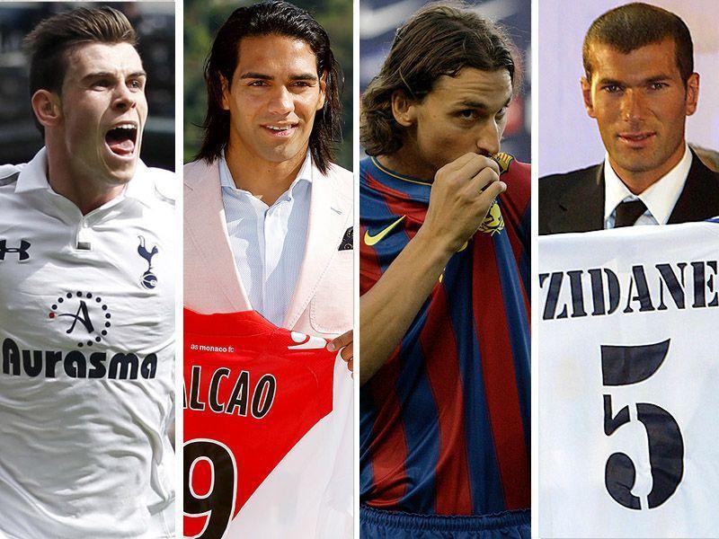 football00 Купить за любые деньги: 11 самых дорогих трансферов в истории футбола