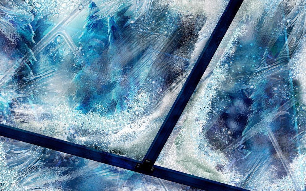 frozen12 Самые красивые фотографии морозной зимы
