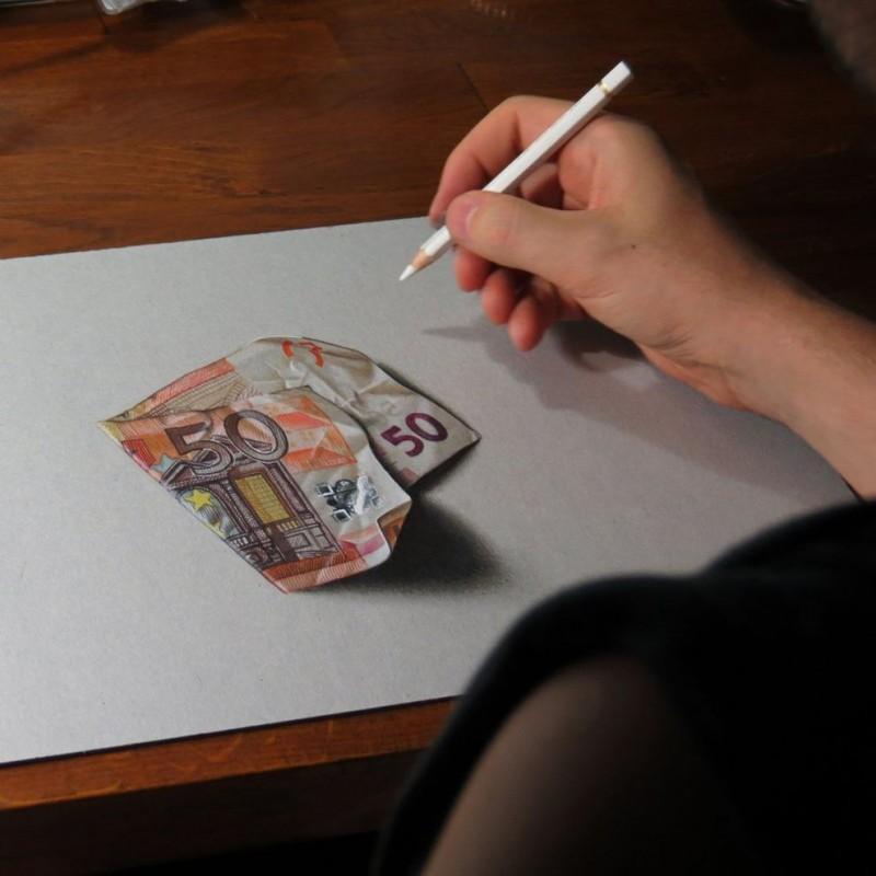 marcellobarenghi01 800x800 Гиперреалистичные рисунки обычных предметов