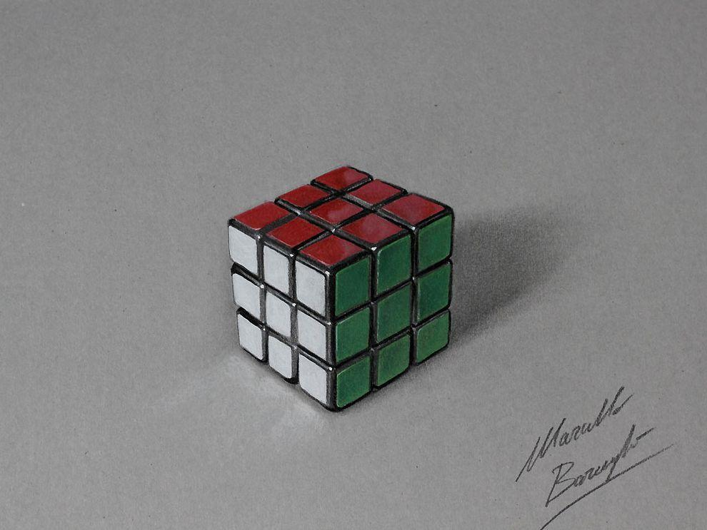 marcellobarenghi04 Гиперреалистичные рисунки обычных предметов