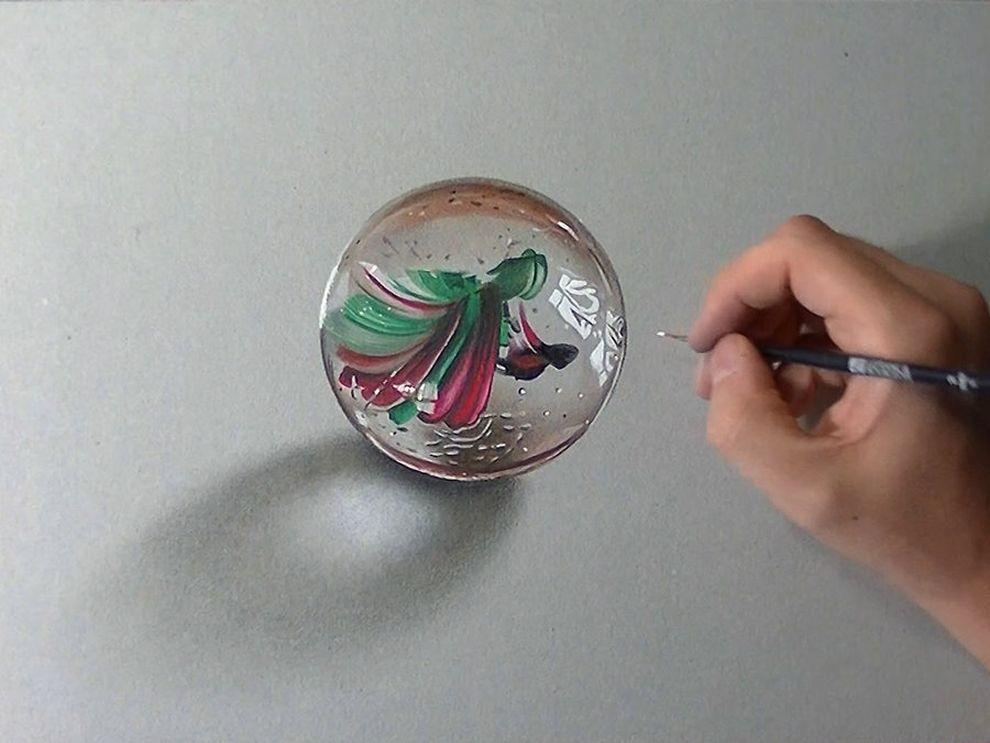 marcellobarenghi05 Гиперреалистичные рисунки обычных предметов