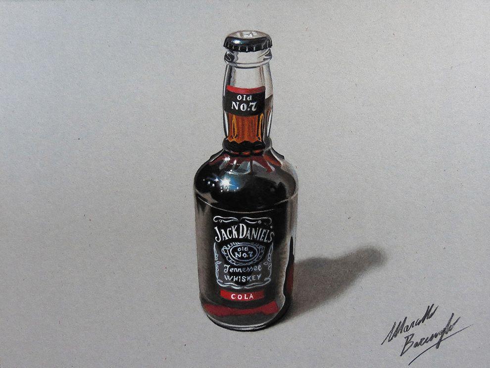 marcellobarenghi08 Гиперреалистичные рисунки обычных предметов