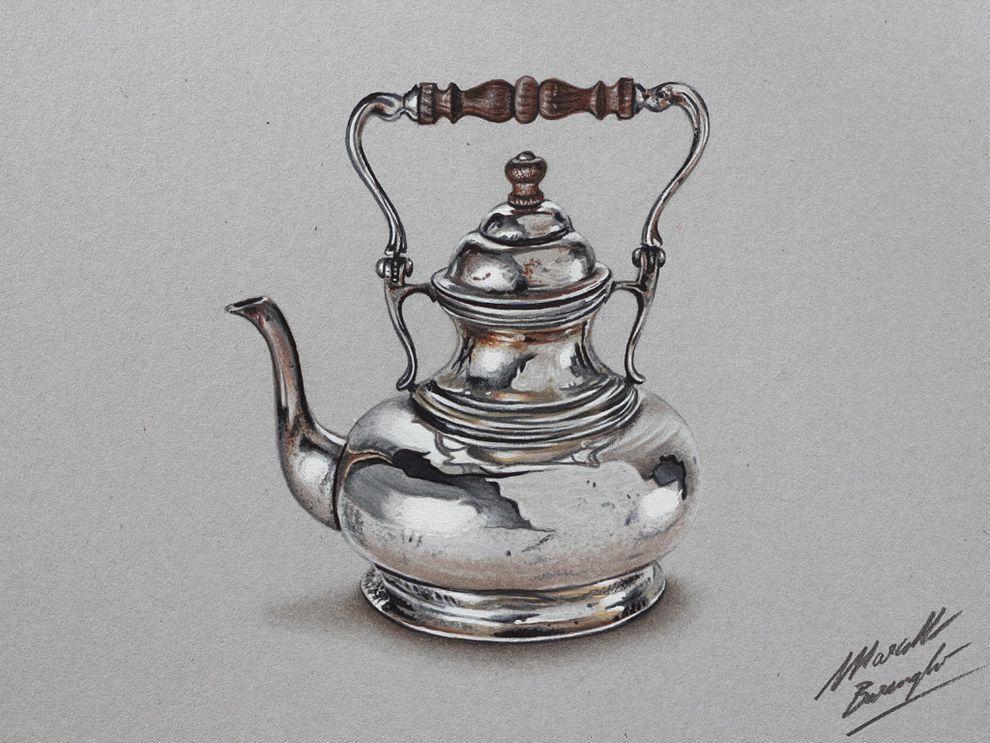 marcellobarenghi09 Гиперреалистичные рисунки обычных предметов