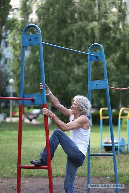 Возраст тренировкам не помеха!