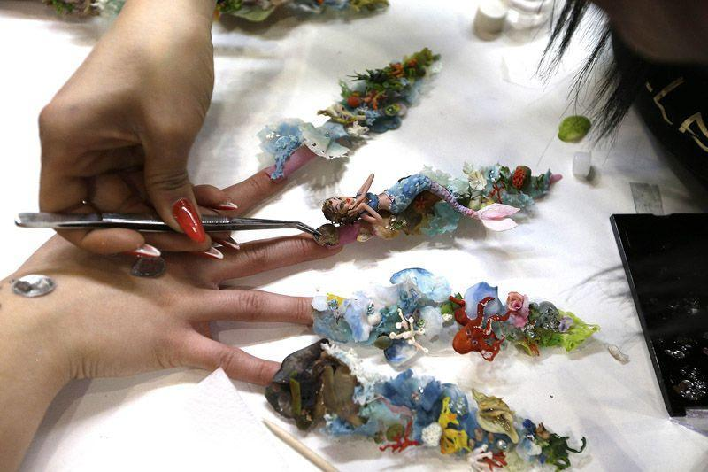 nailart01 13 фотографий ногтевого дизайна, которые поражают воображение