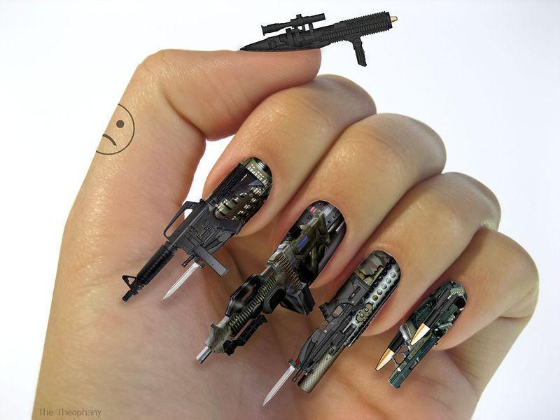 nailart03 13 фотографий ногтевого дизайна, которые поражают воображение