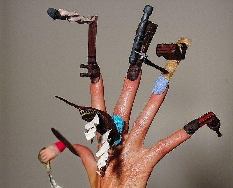 nailart05 13 фотографий ногтевого дизайна, которые поражают воображение