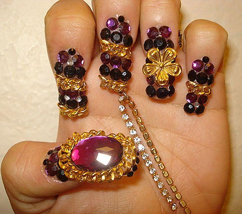 nailart07 13 фотографий ногтевого дизайна, которые поражают воображение