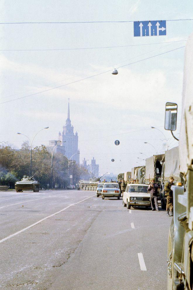 revolution02 Расстрел Дома Советов 4 октября 1993 года