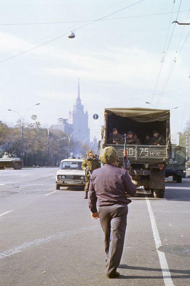 revolution03 Расстрел Дома Советов 4 октября 1993 года
