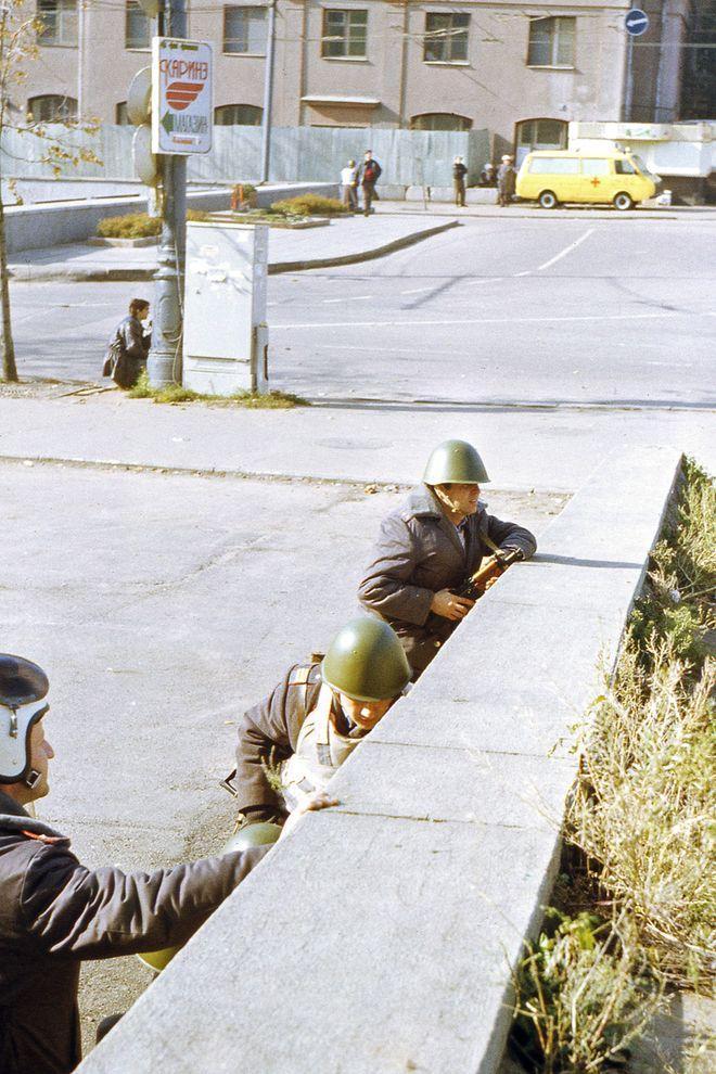 revolution04 Расстрел Дома Советов 4 октября 1993 года