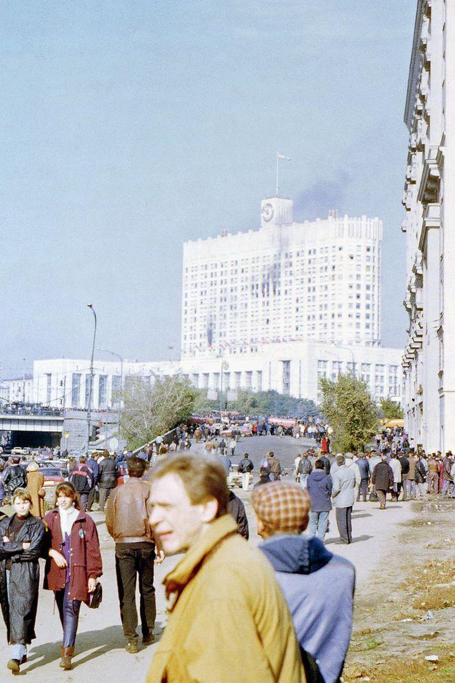 revolution07 Расстрел Дома Советов 4 октября 1993 года