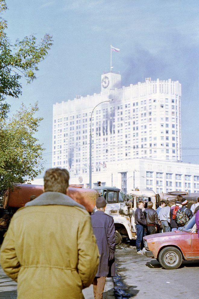 revolution08 Расстрел Дома Советов 4 октября 1993 года