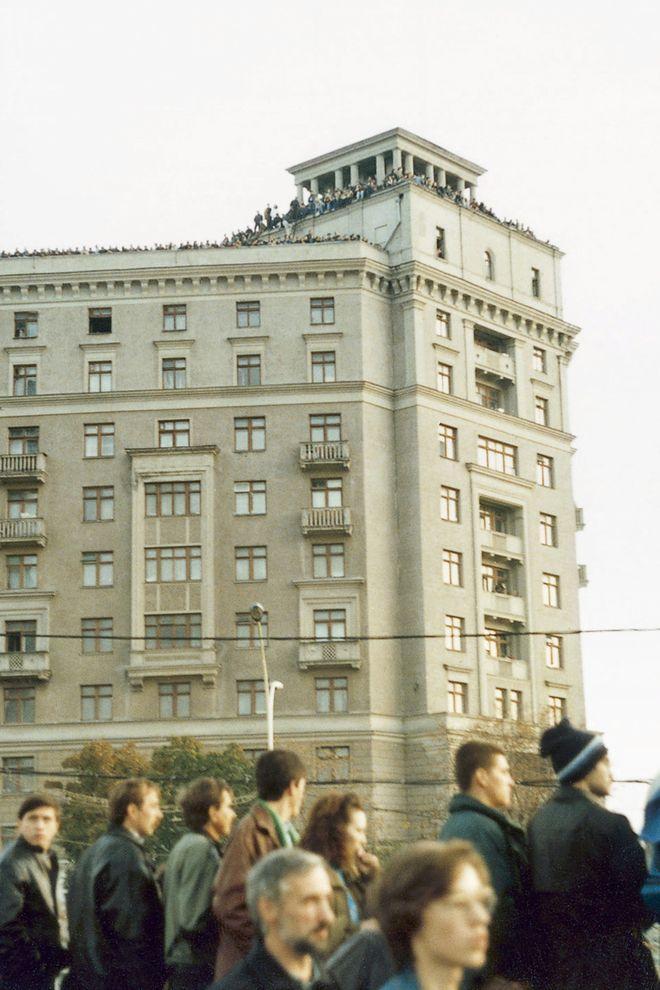 revolution09 Расстрел Дома Советов 4 октября 1993 года