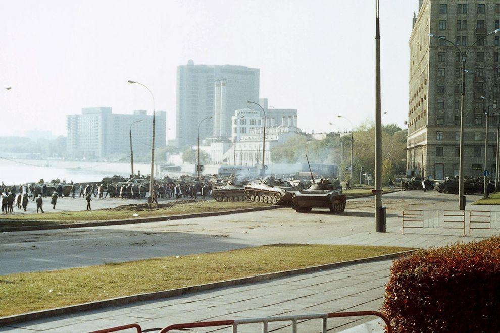 revolution13 Расстрел Дома Советов 4 октября 1993 года