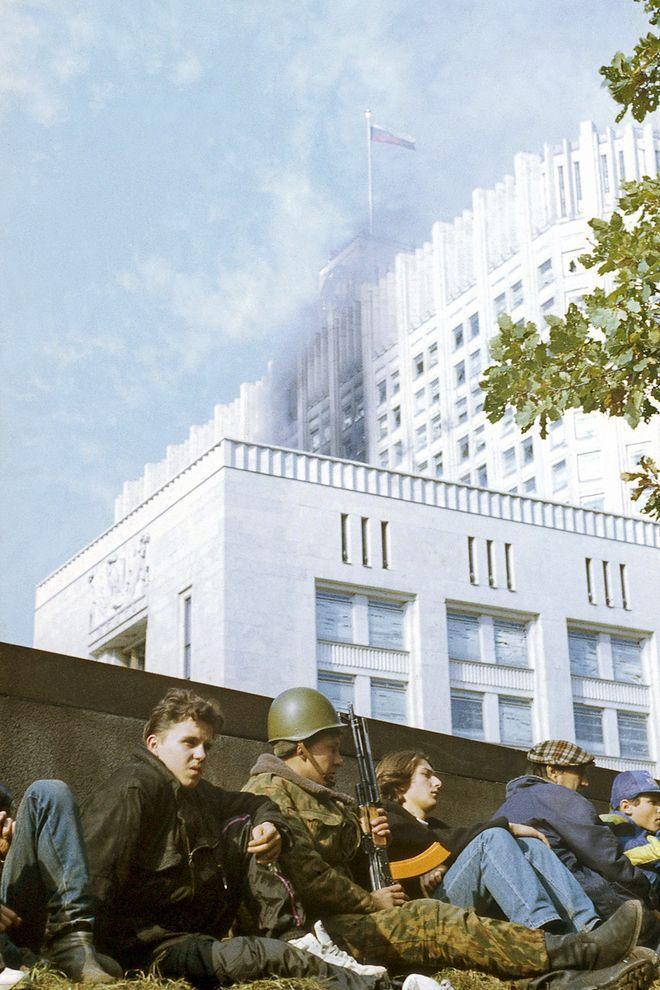 revolution14 Расстрел Дома Советов 4 октября 1993 года