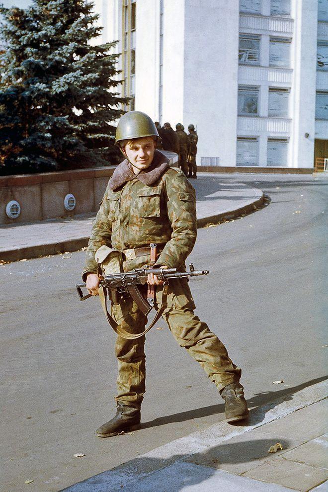 revolution25 Расстрел Дома Советов 4 октября 1993 года