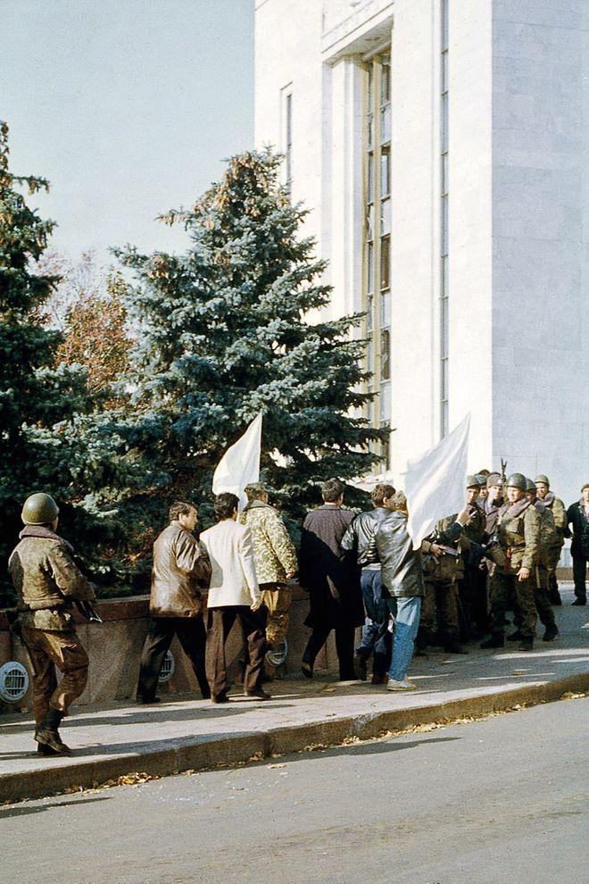 revolution26 Расстрел Дома Советов 4 октября 1993 года