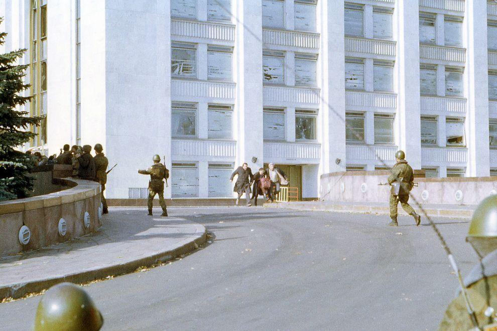 revolution27 Расстрел Дома Советов 4 октября 1993 года