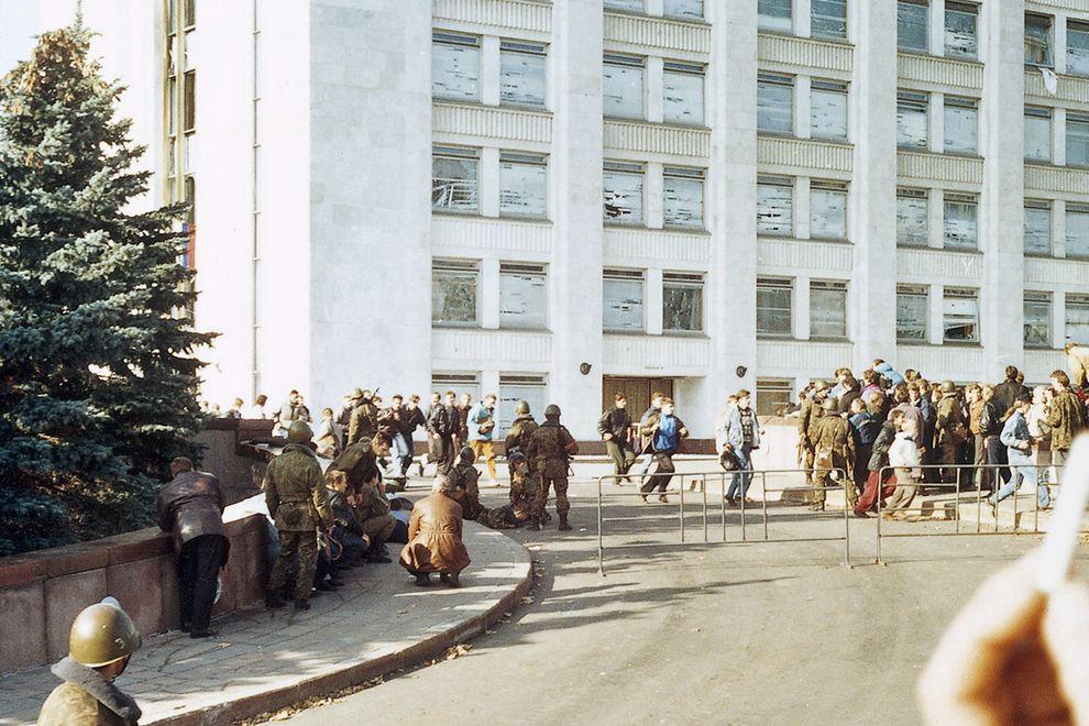 revolution28 Расстрел Дома Советов 4 октября 1993 года