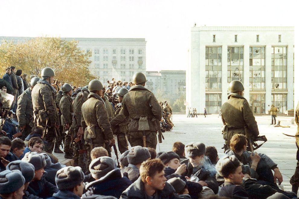 revolution29 Расстрел Дома Советов 4 октября 1993 года