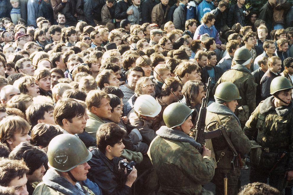 revolution31 Расстрел Дома Советов 4 октября 1993 года