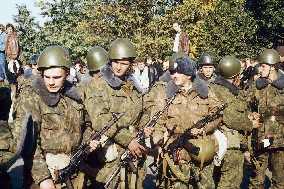 revolution32 Расстрел Дома Советов 4 октября 1993 года