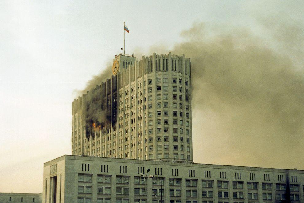 revolution34 Расстрел Дома Советов 4 октября 1993 года