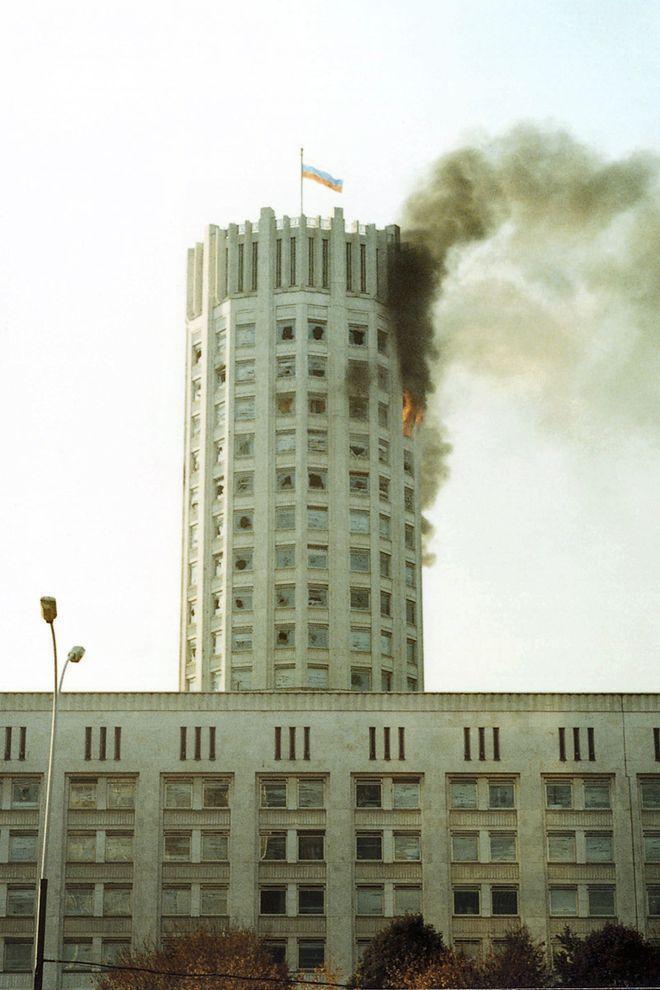 revolution35 Расстрел Дома Советов 4 октября 1993 года