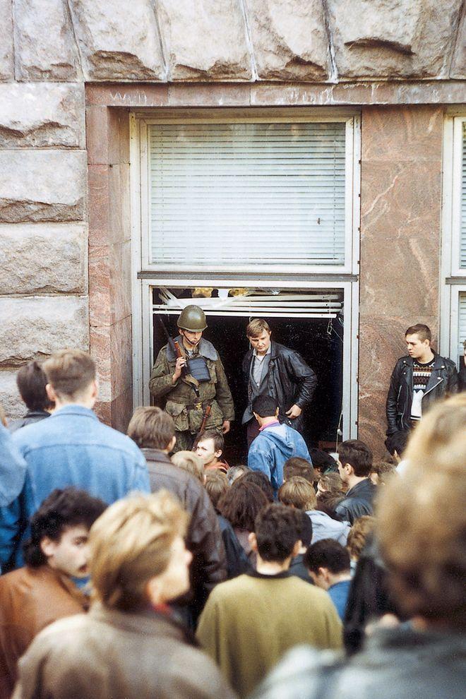 revolution36 Расстрел Дома Советов 4 октября 1993 года