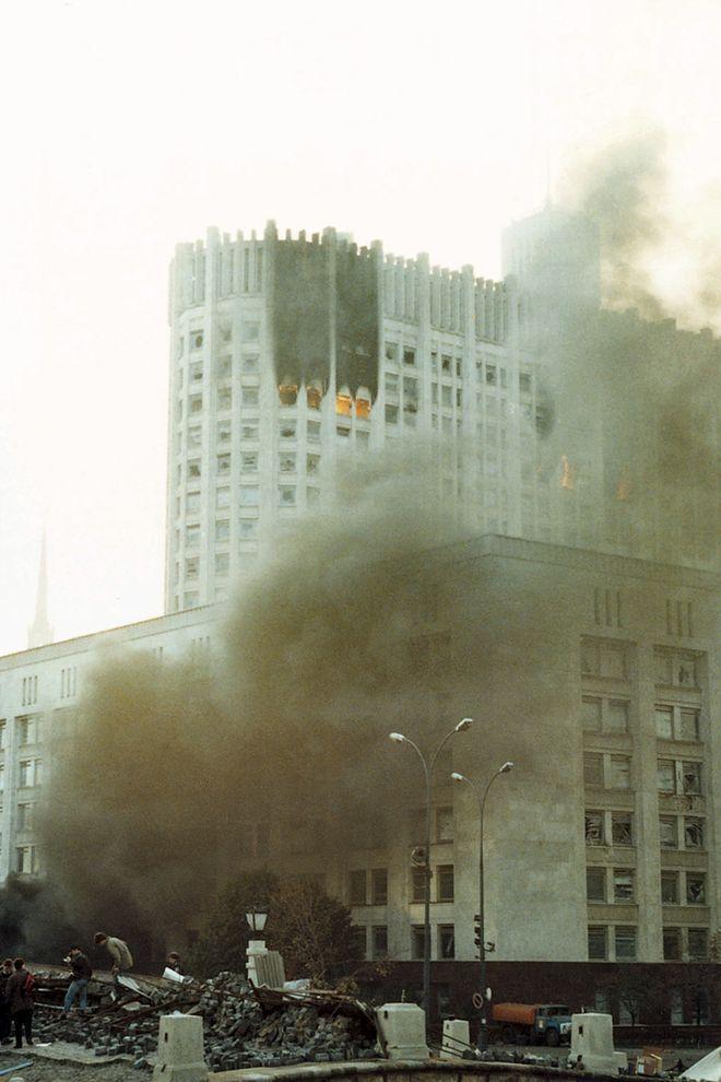 revolution37 Расстрел Дома Советов 4 октября 1993 года