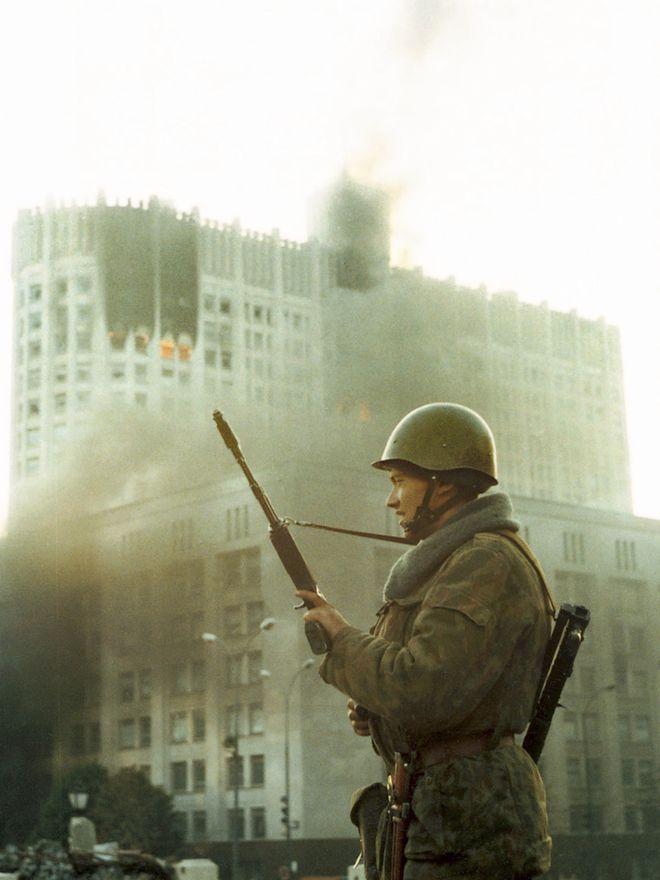 revolution38 Расстрел Дома Советов 4 октября 1993 года