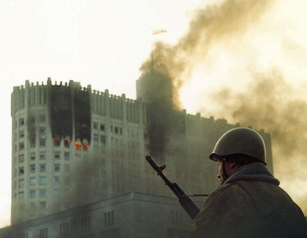 revolution39 Расстрел Дома Советов 4 октября 1993 года