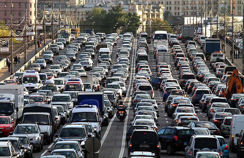 14 самых убедительных доказательств транспортного коллапса в Москве