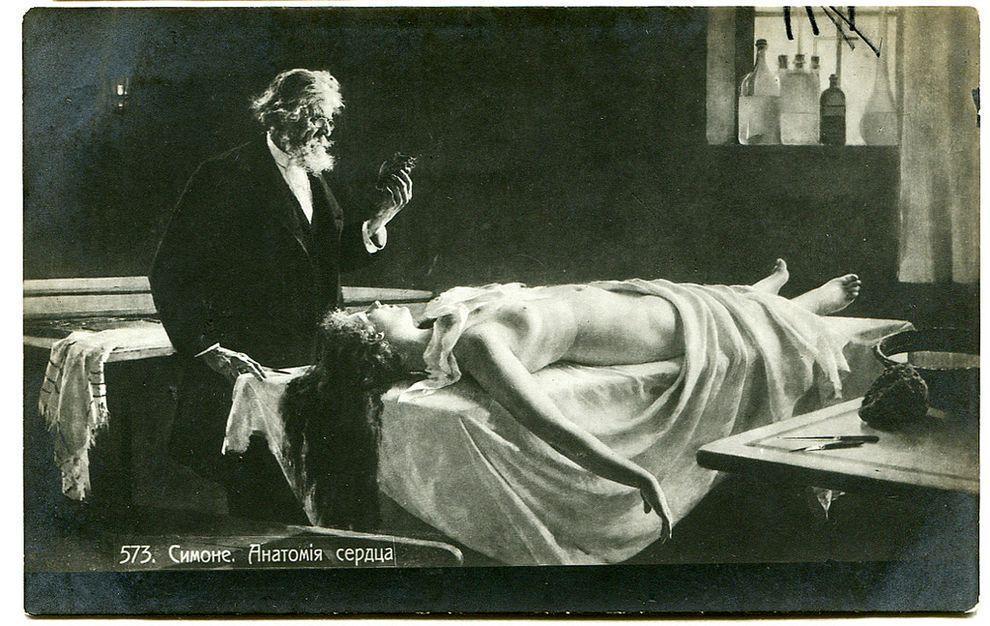 weirdestcards03 Авторская коллекция самых странных открыток из прошлого