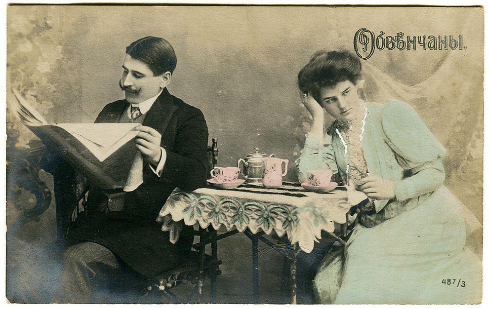 weirdestcards10 Авторская коллекция самых странных открыток из прошлого