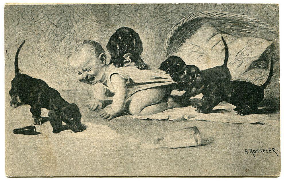 weirdestcards14 Авторская коллекция самых странных открыток из прошлого