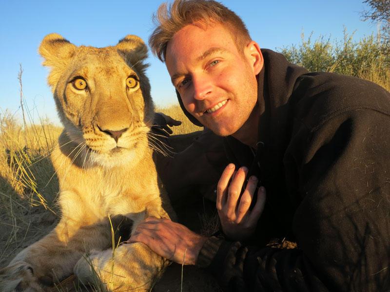 withLions13 Как я жил со львами в Ботсване