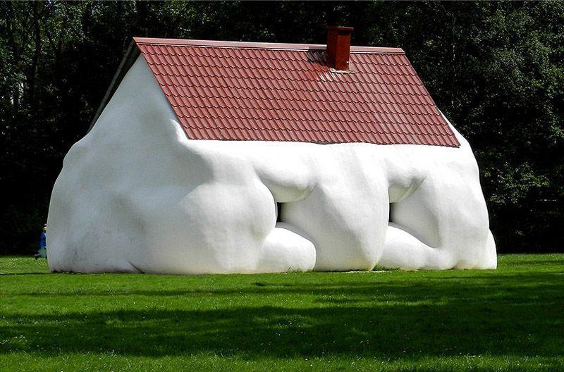 Сосисочные скульптуры, ожиревшие машины и другие странности от Эрвина Вурма