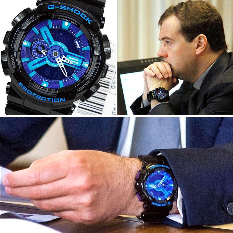 Медведев Какие часы носят знаменитости