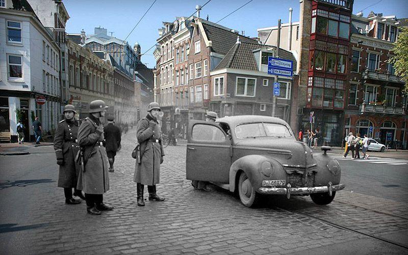 AnneFranksAmsterdam01 Амстердам Анны Франк   прошлое и настоящее