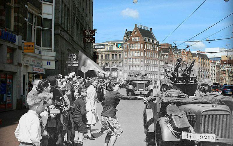 AnneFranksAmsterdam02 Амстердам Анны Франк   прошлое и настоящее