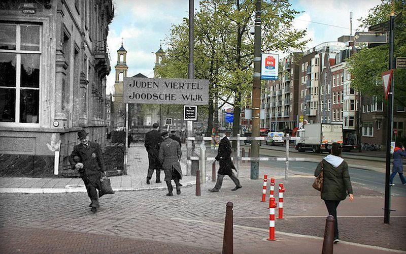 AnneFranksAmsterdam05 Амстердам Анны Франк   прошлое и настоящее