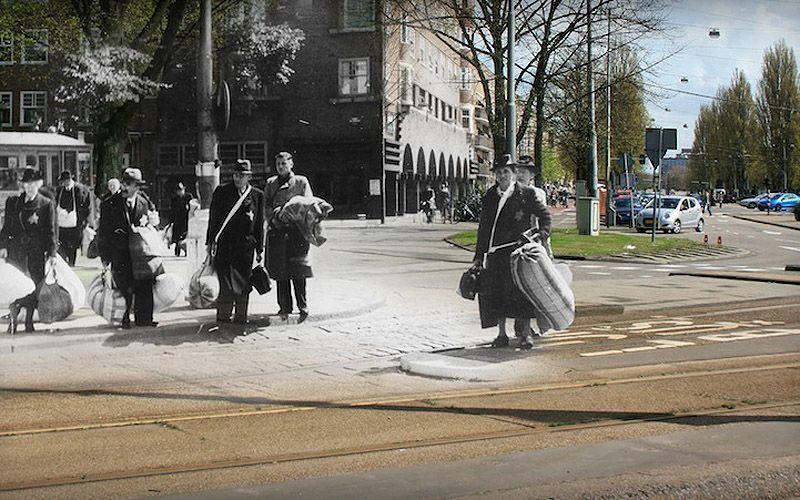 AnneFranksAmsterdam06 Амстердам Анны Франк   прошлое и настоящее