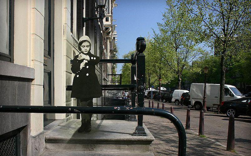 AnneFranksAmsterdam08 Амстердам Анны Франк   прошлое и настоящее