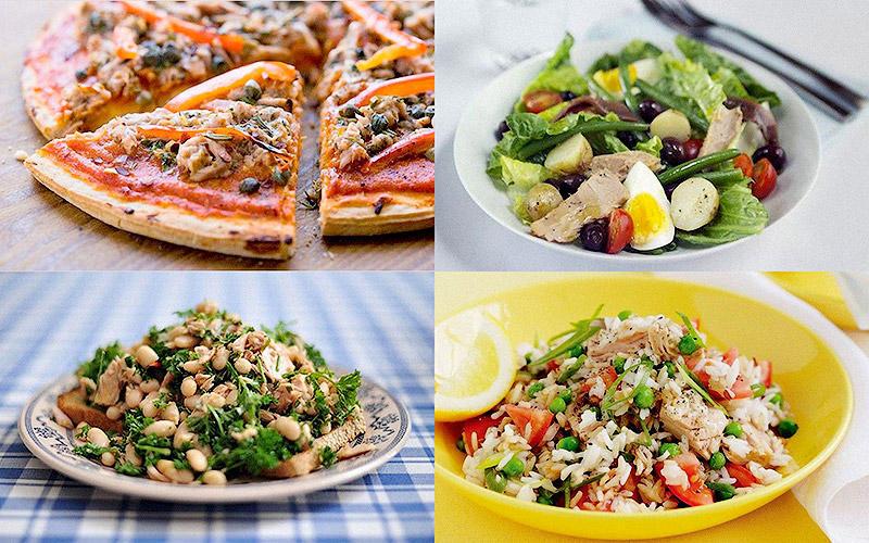 10 быстрых блюд с тунцом
